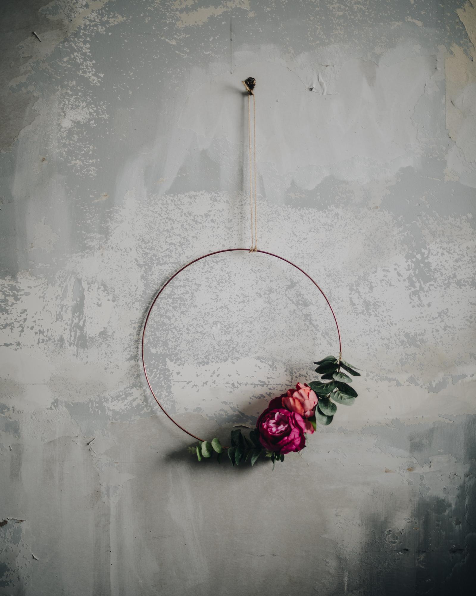 Wedding hoop wreath inspiration