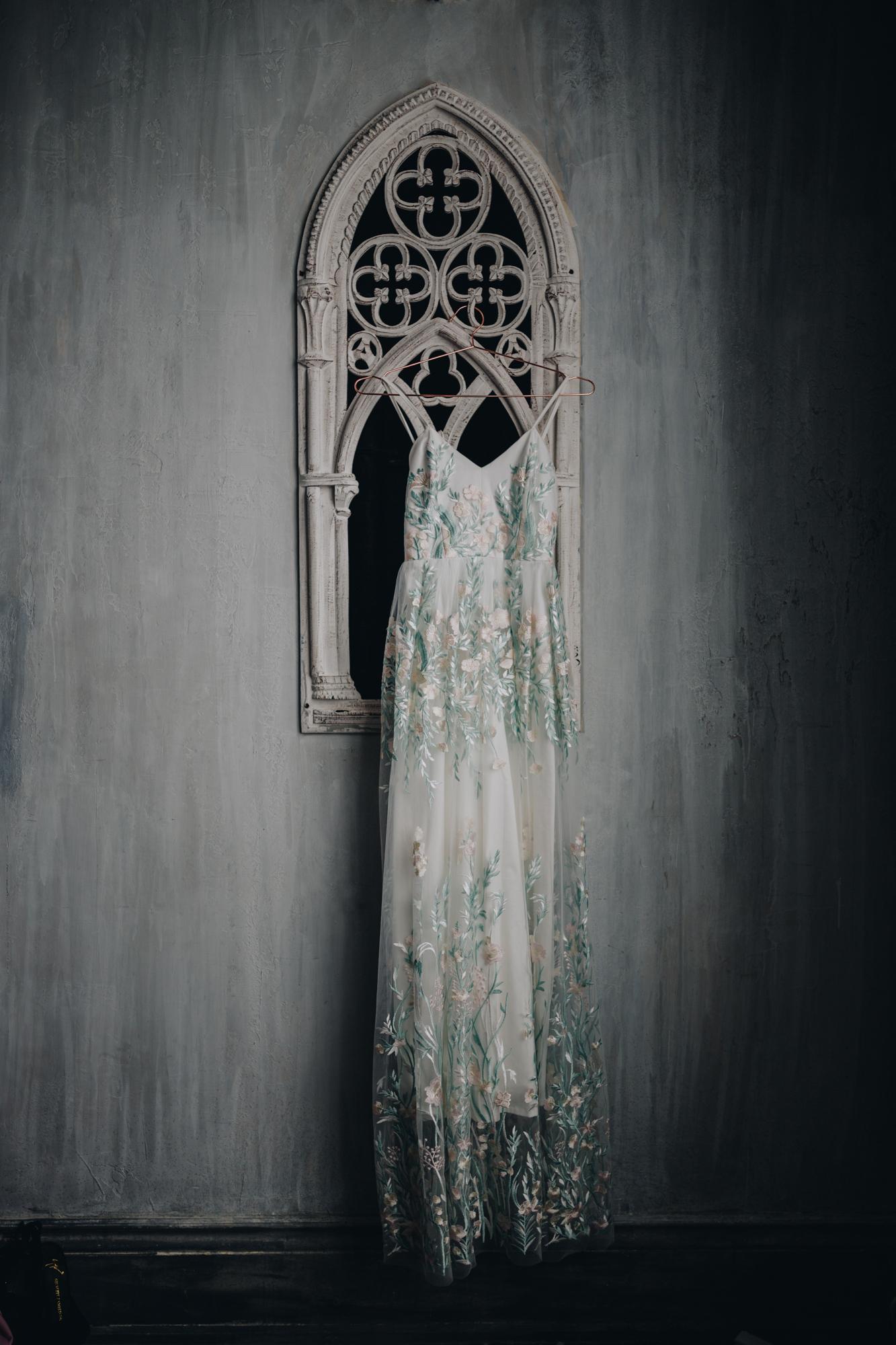 Bridal styled shoot magazine