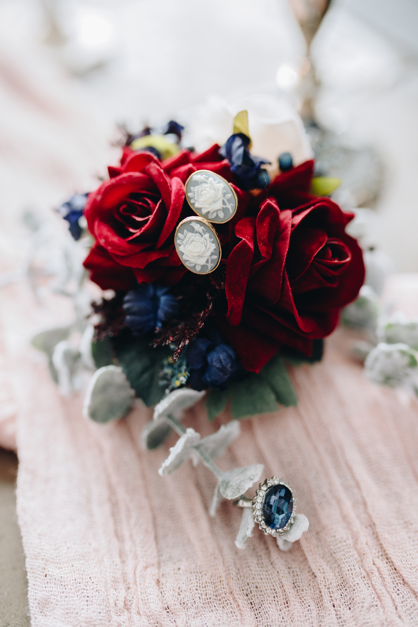 Bridal styled shoot details
