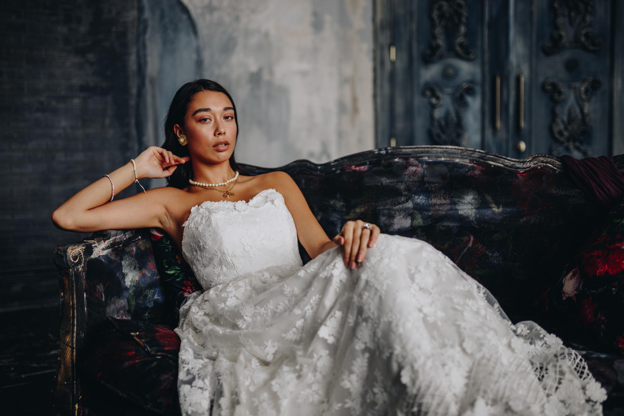 Jordan de Ruiter wedding dress