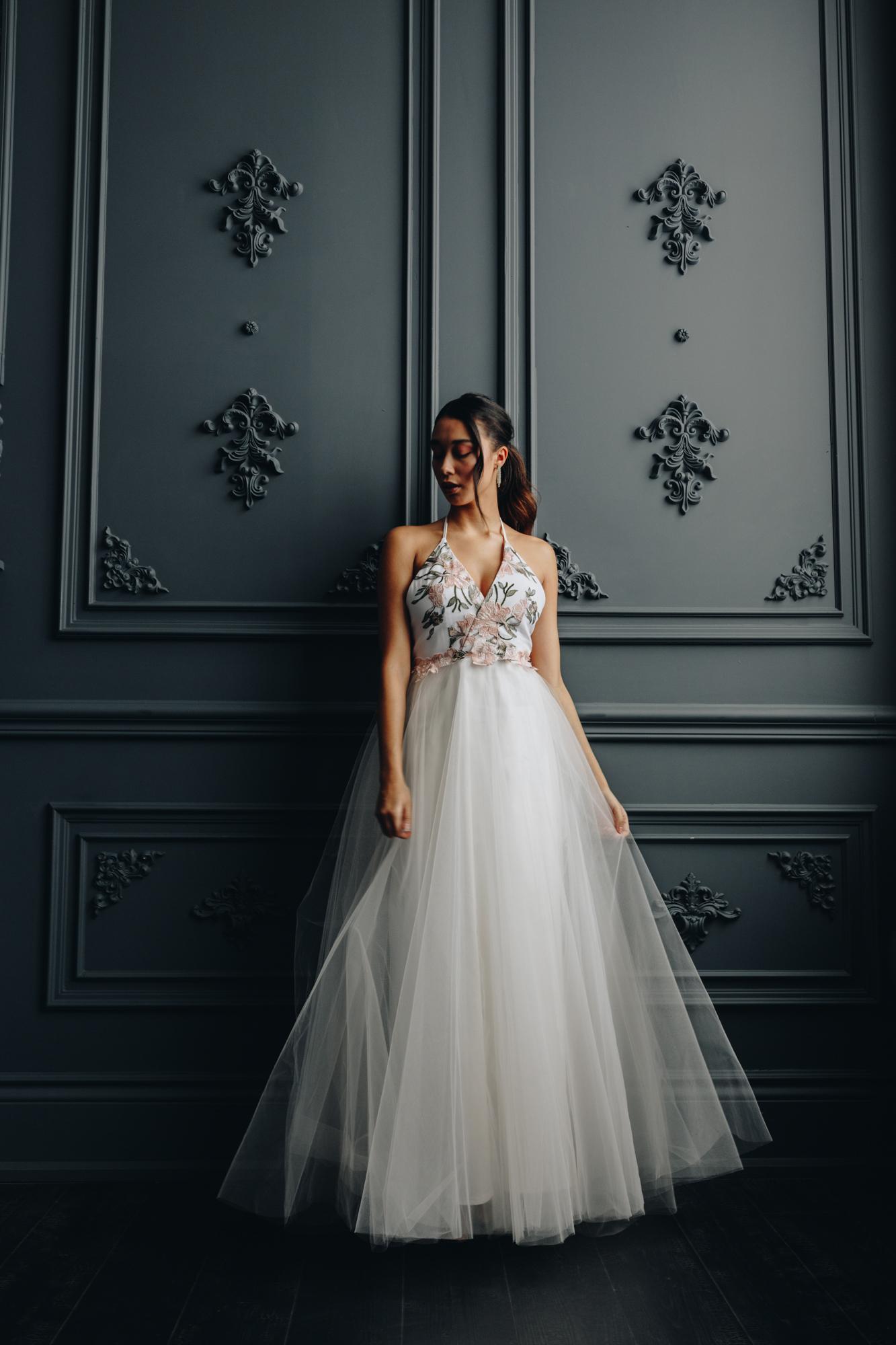 Tulle wedding dress Toronto