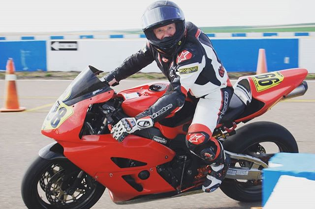 Kevin Madden, always ecstatic to be riding. Not sure what's more thrilling for him; being a pilot or racing🤔�
