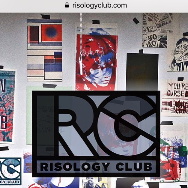 Revamped our website. www.risologyclub.com or www.risology.club Peep it, hit us with some feedback. It's a forever work in progress, but at least it's there. #risology #risologyclub