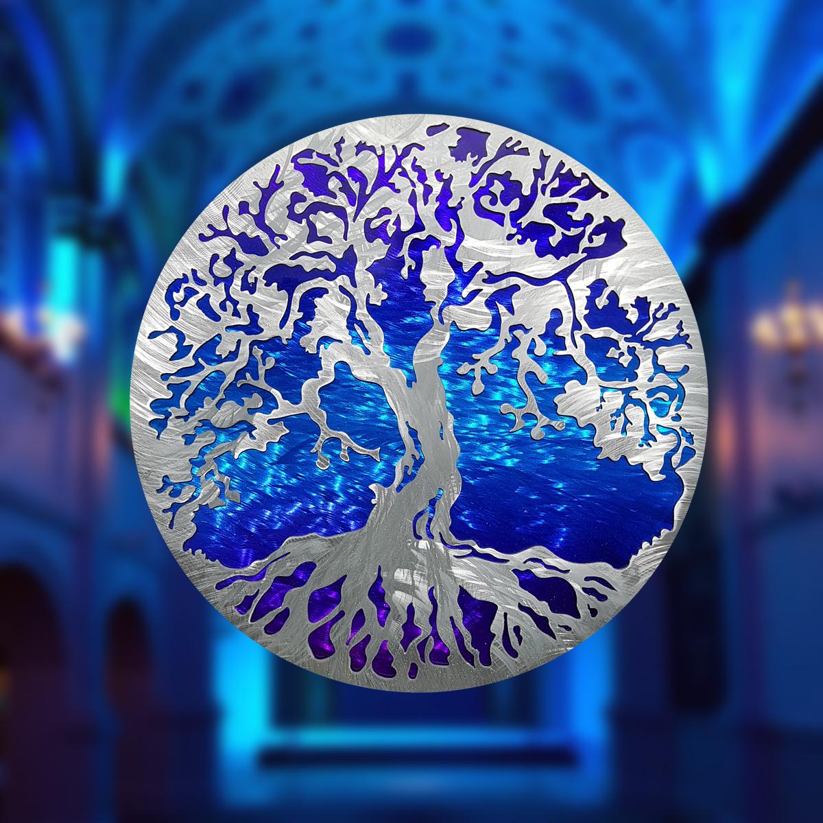 Tree of Life Blue
