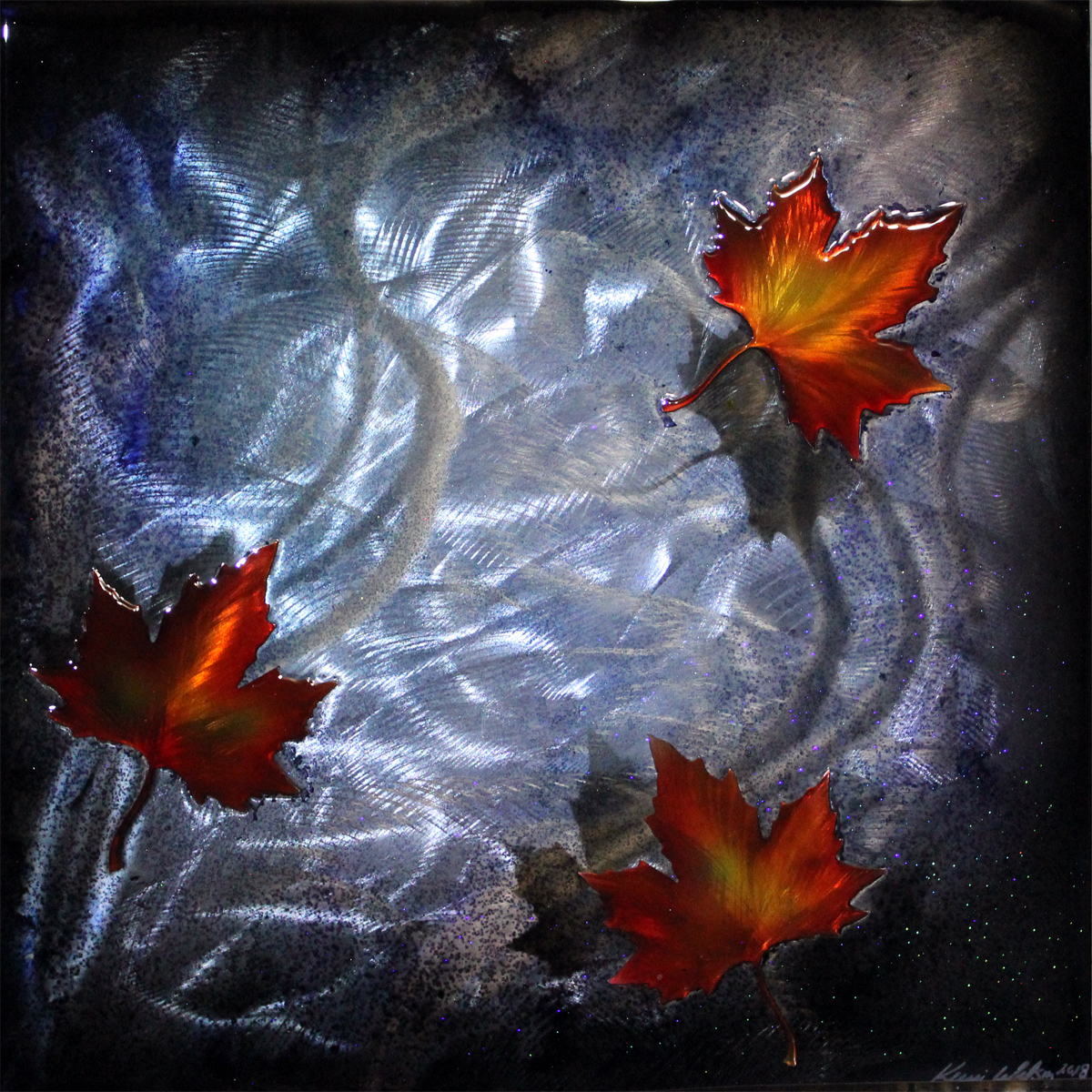 Maple Leaves (silver)