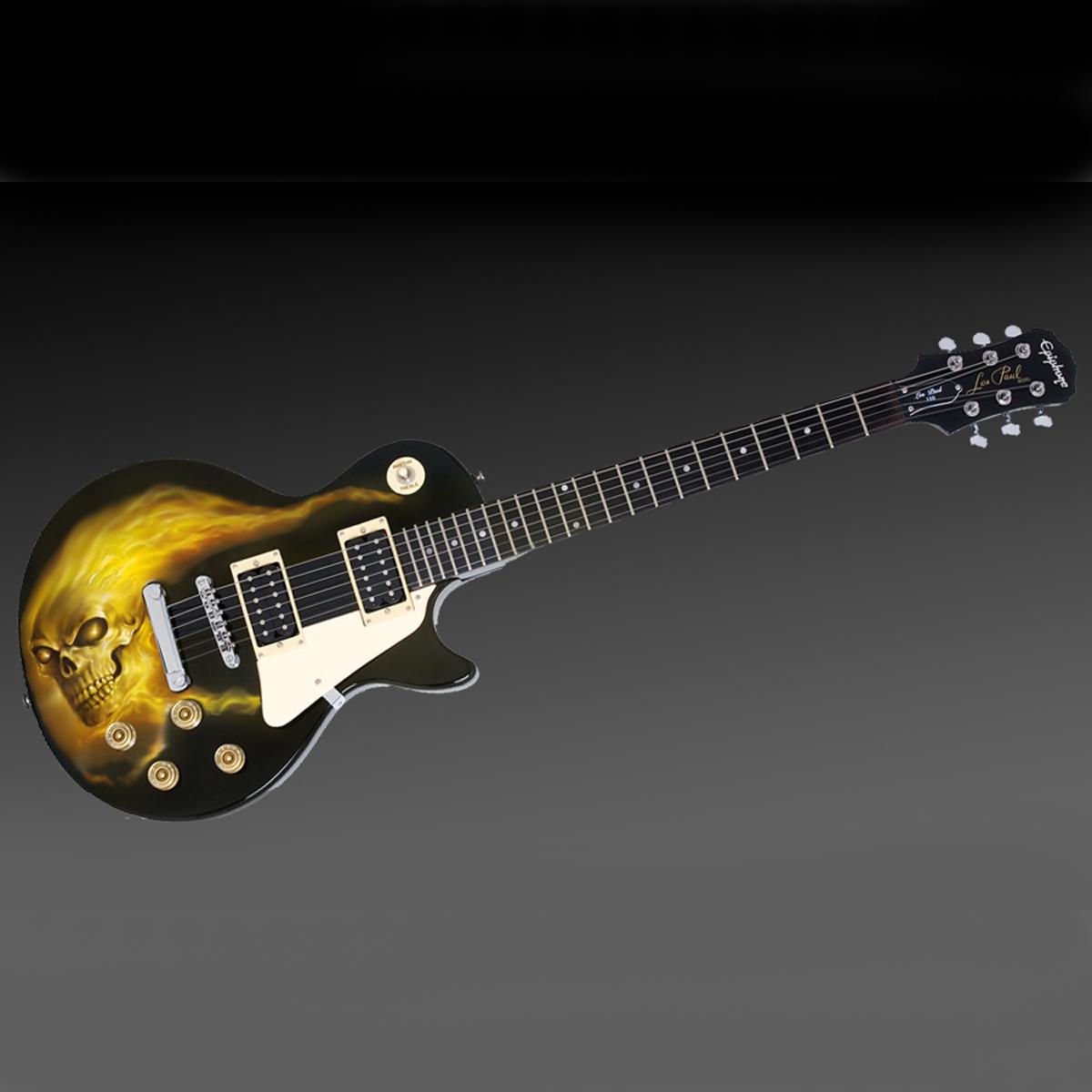 Les Paul Skull Guitar
