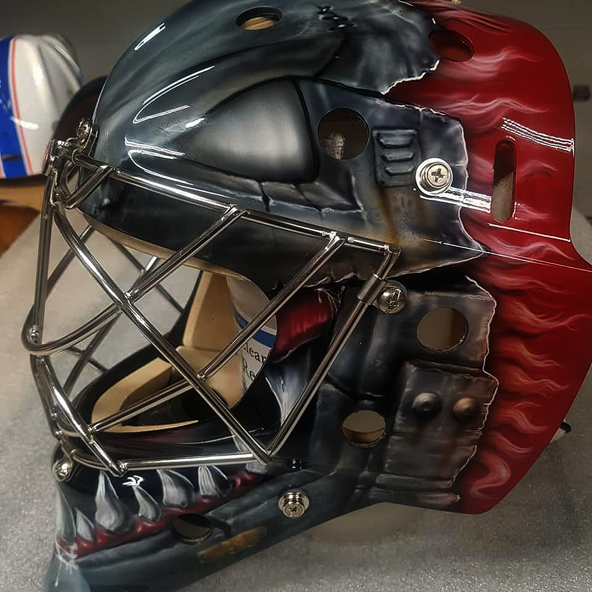 Custom Goalie Mask
