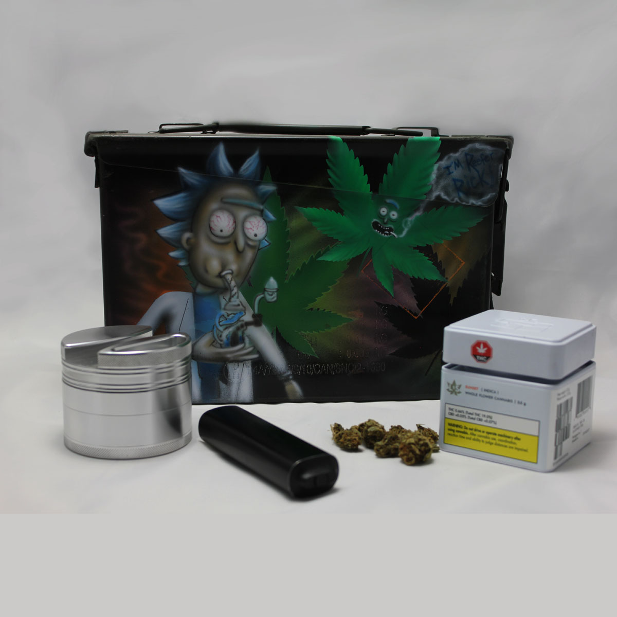 Rick and Morty Canna-Boxx