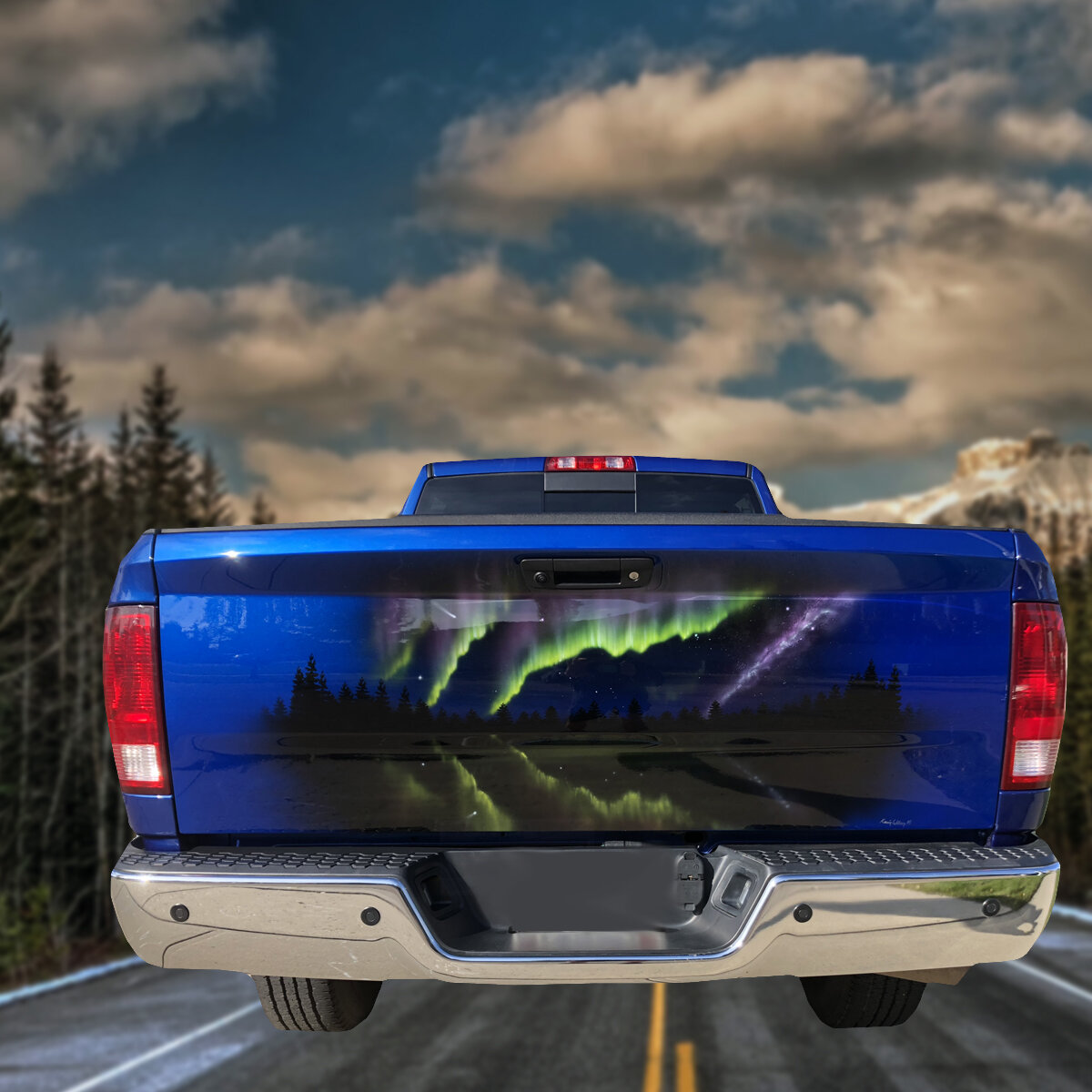 Northern Lights RAM Tailgate.jpg