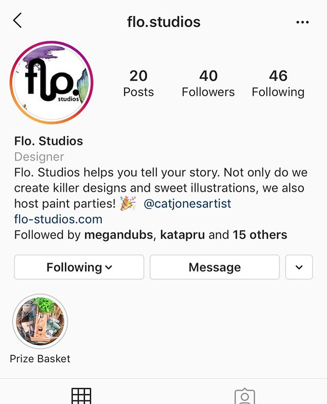 Hey guys! I've officially launched my company's Instagram account and would really appreciate it if you could give it a follow! I'm working hard to build a base of followers on it. I'll be posting my work a lot more often on there.  Thanks!🙏