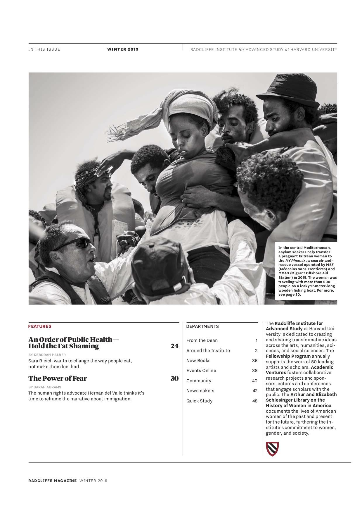Radcliffe Magazine - Harvard - Gabriele Casini.jpg