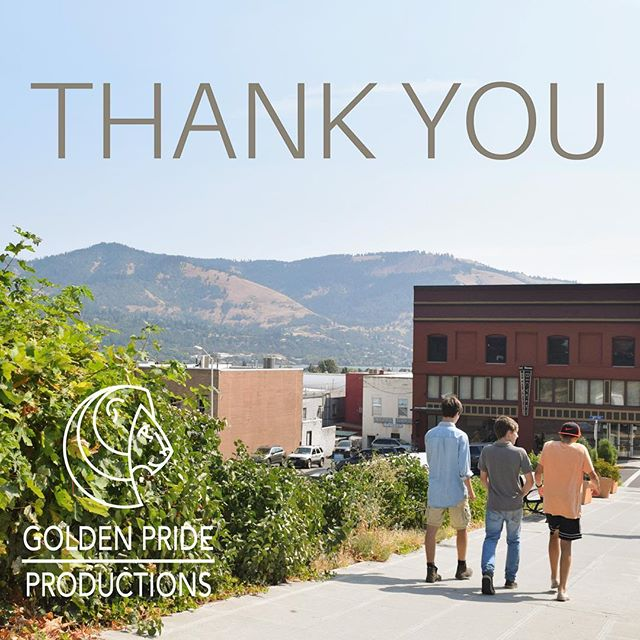 GPP would like to give a big THANK YOU to all the amazing folks in our support system that have made these filmmaking dreams come true! We're grateful to be in this city, in this time, with all these amazing people surrounding us.  We'd be nothing without our Pride.