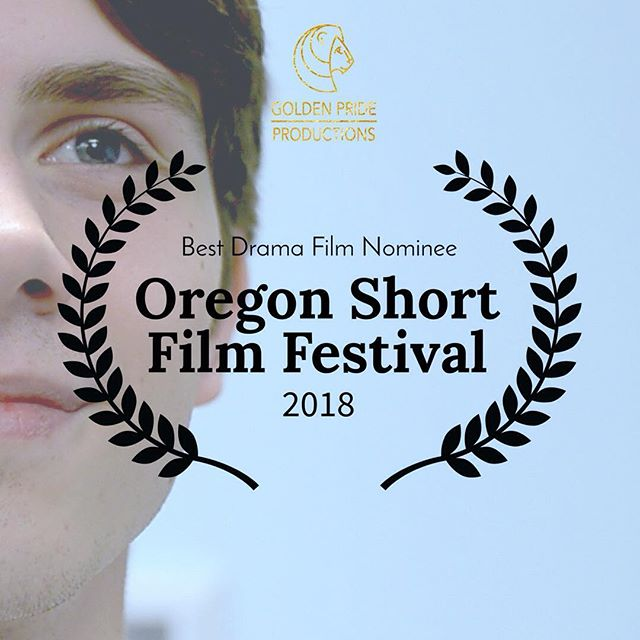 """Our short film """"Men Should Be"""" has just been nominated for the Best Drama Film award at the Oregon Short Film Festival. Come see its screening on February 3rd in the 6-8pm block (Session 3) at the Avalon Theatre. Director Pearson Kunz & Cinematographer David Traynor will be in attendance. Tickets available at the link in bio.  See you there!"""