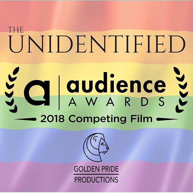 """HAPPY PRIDE MONTH!!! This Golden Pride is particularly happy to announce that our film """"The Unidentified"""" has been accepted to its first festival! The film is one of 42 films selected to compete in 2018's Audience Awards online LGBTQ Shorts Film Festival. Help us out by voting for the film at the link in our bio before June 19! We are honored to be programed in a festival sharing our core value of expressing the """"the many iterations of identity."""" Be sure to check out the other cool queer films too! Thanks, as always, for the support! #theunidentified #film #shortfilm #oregonfilm #queer #lgbtq #pride #pridemonth #comingofage #filmmaking #goldenprideproductions  #hoodriverfilm #portlandfilm"""
