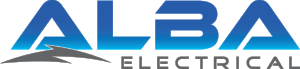 Alba Electrical Logo - Separate Bolt.png