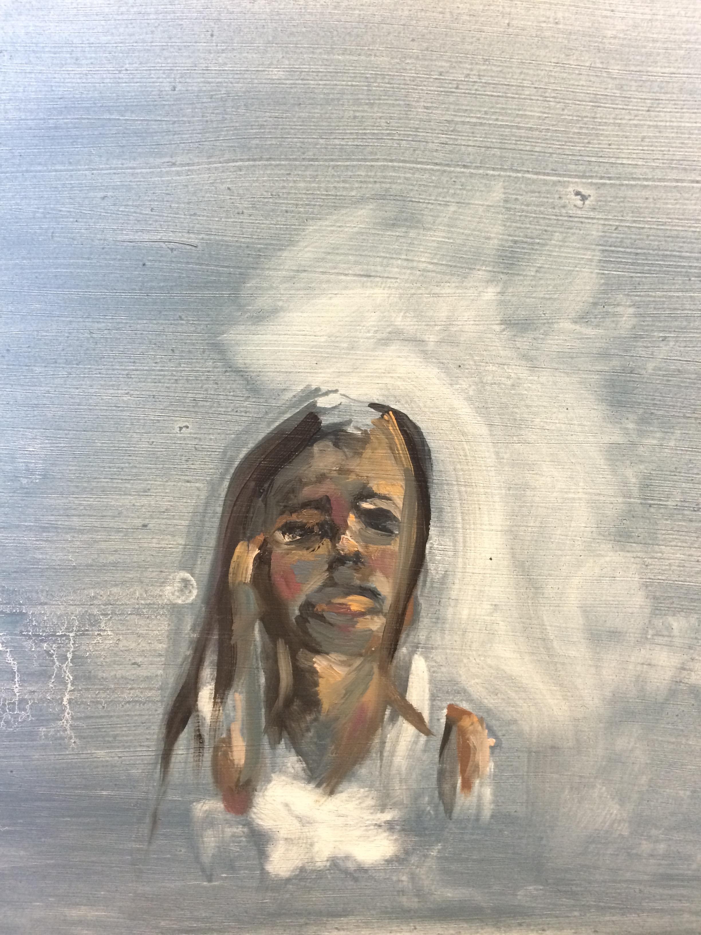 """Oil Paint on Wood Panel, 8""""x10"""""""