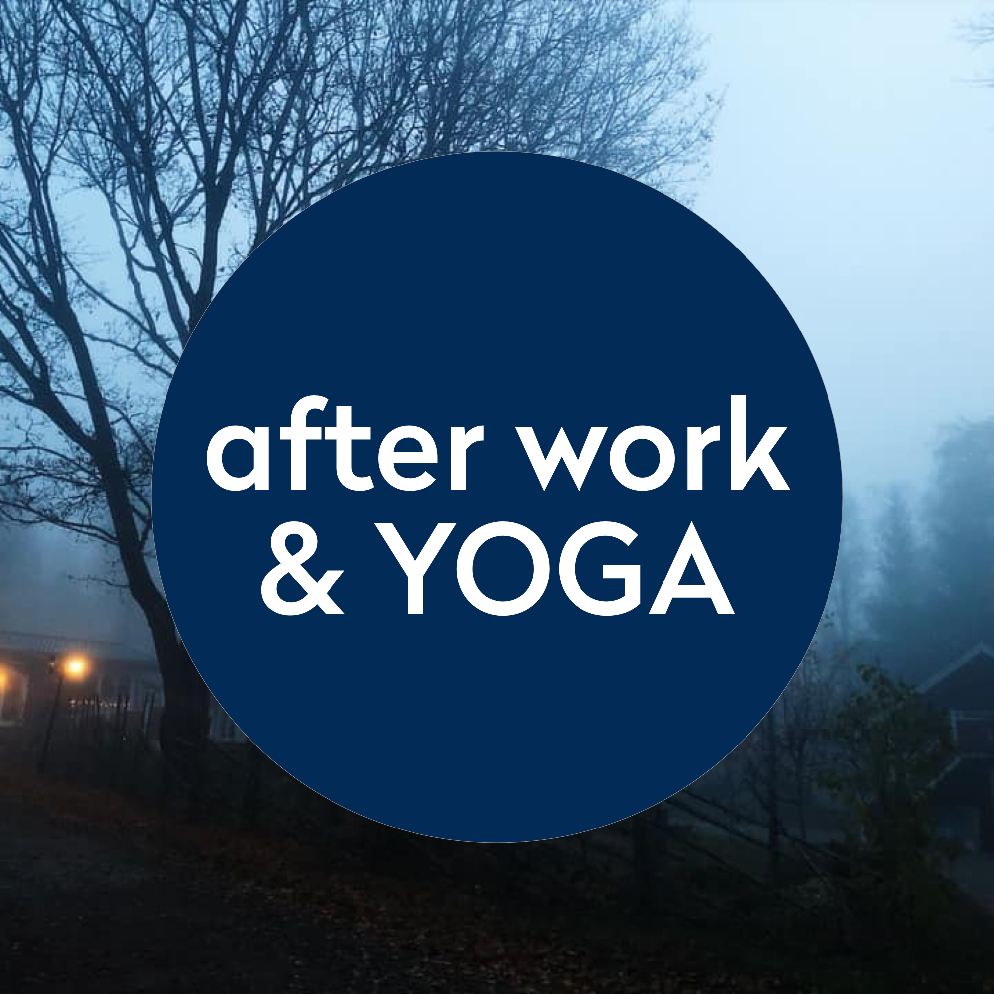 Afterwork & yoga - Fredagen den 9 november bjuder vi in 20 glada för en avslappnande yinyogaklass som sedan avrundas med en vegetarisk tacobuffé.Tid: 18.30-21.00Pris: 275 SEKBe happy - do yoga & eat taco!