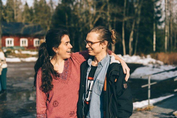 Philippa och simon