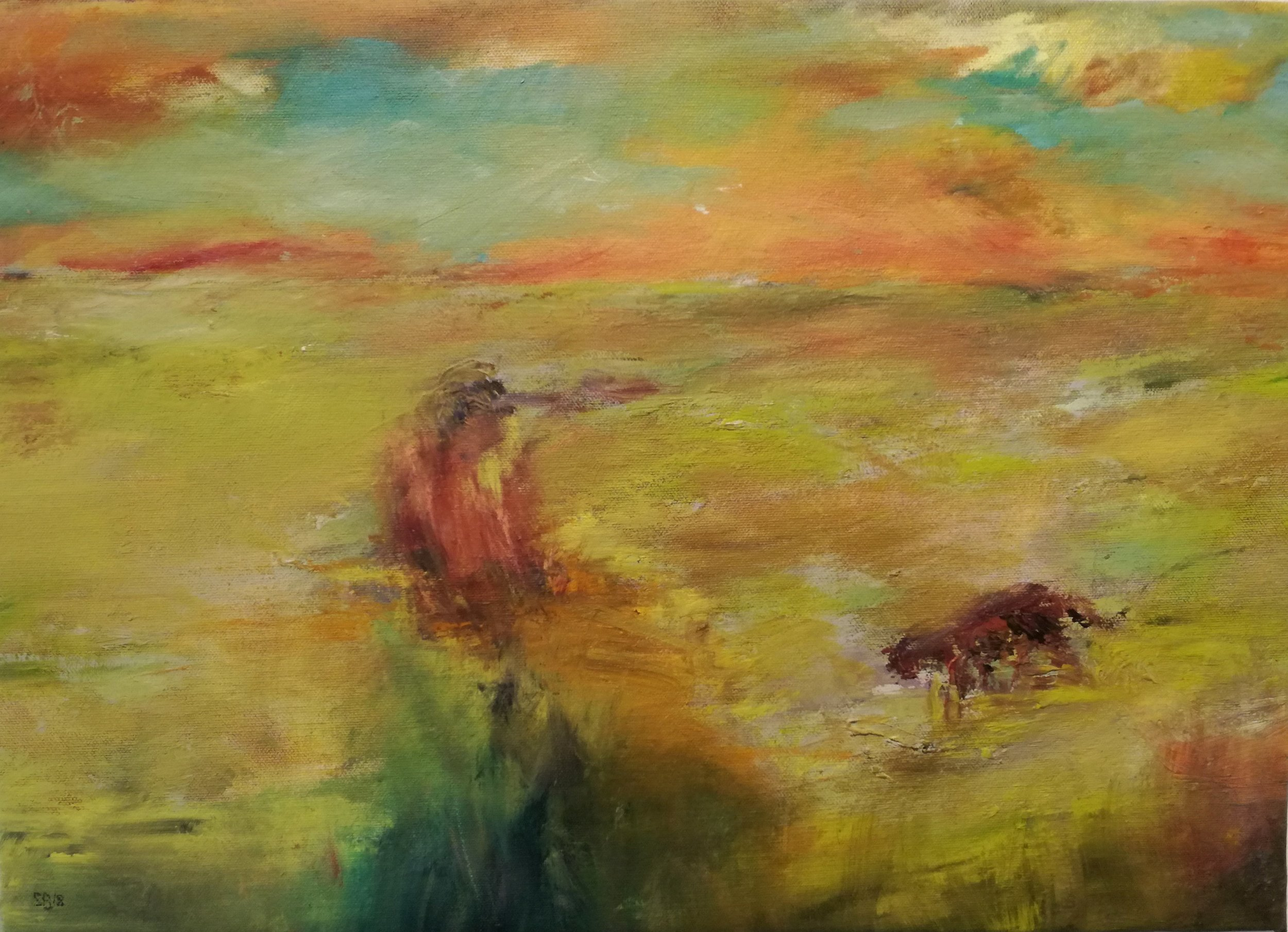 Killing Fields   Silke Berens   OIl on canvas  R 5 320.00 excl. vat