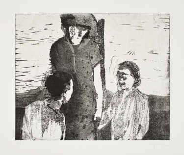 Untitled   Niall Bingham  Etching on paper  Edition of 44  R 3 200.00 excl. vat
