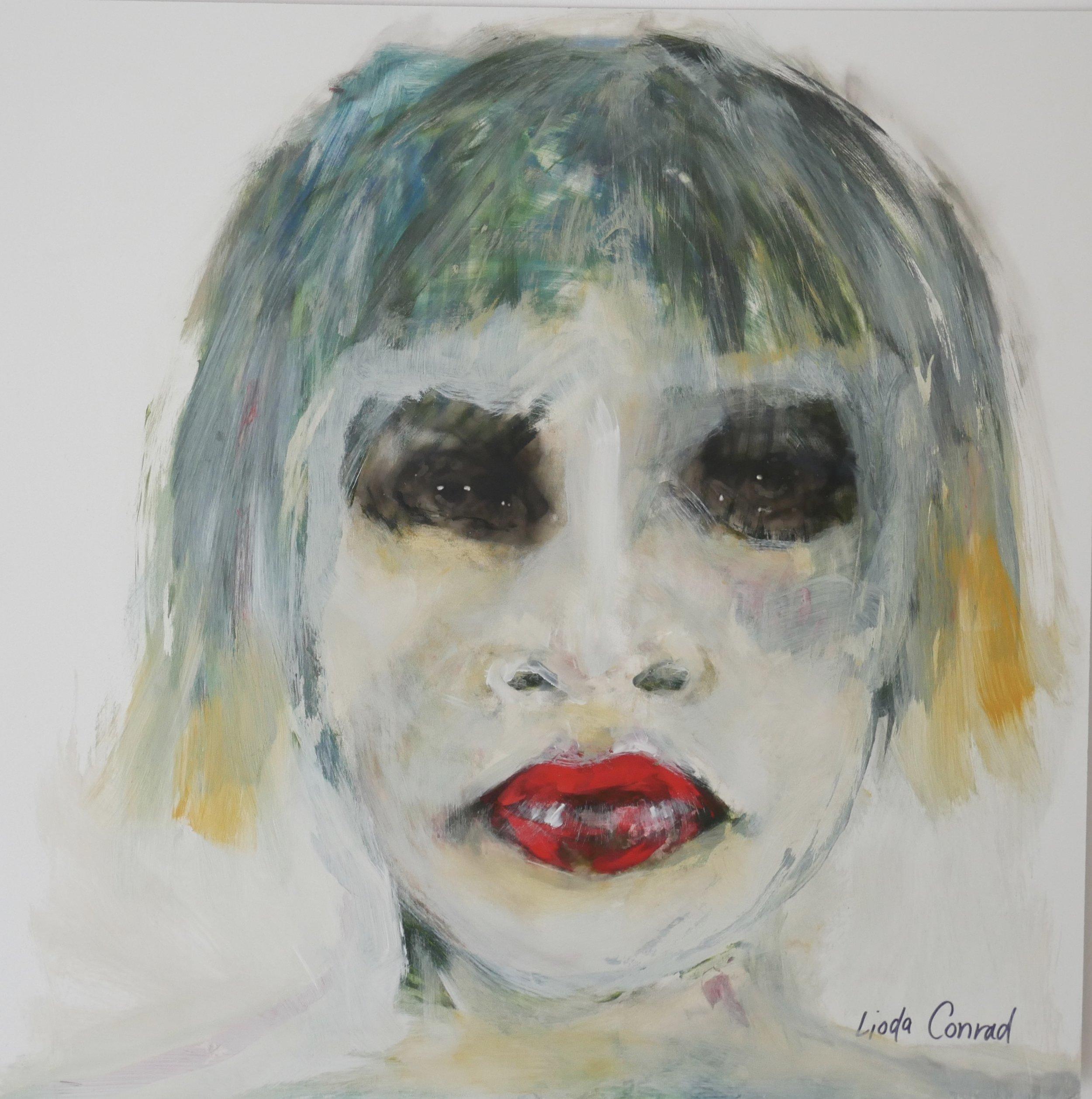 Green Hair by Lioda Conrad