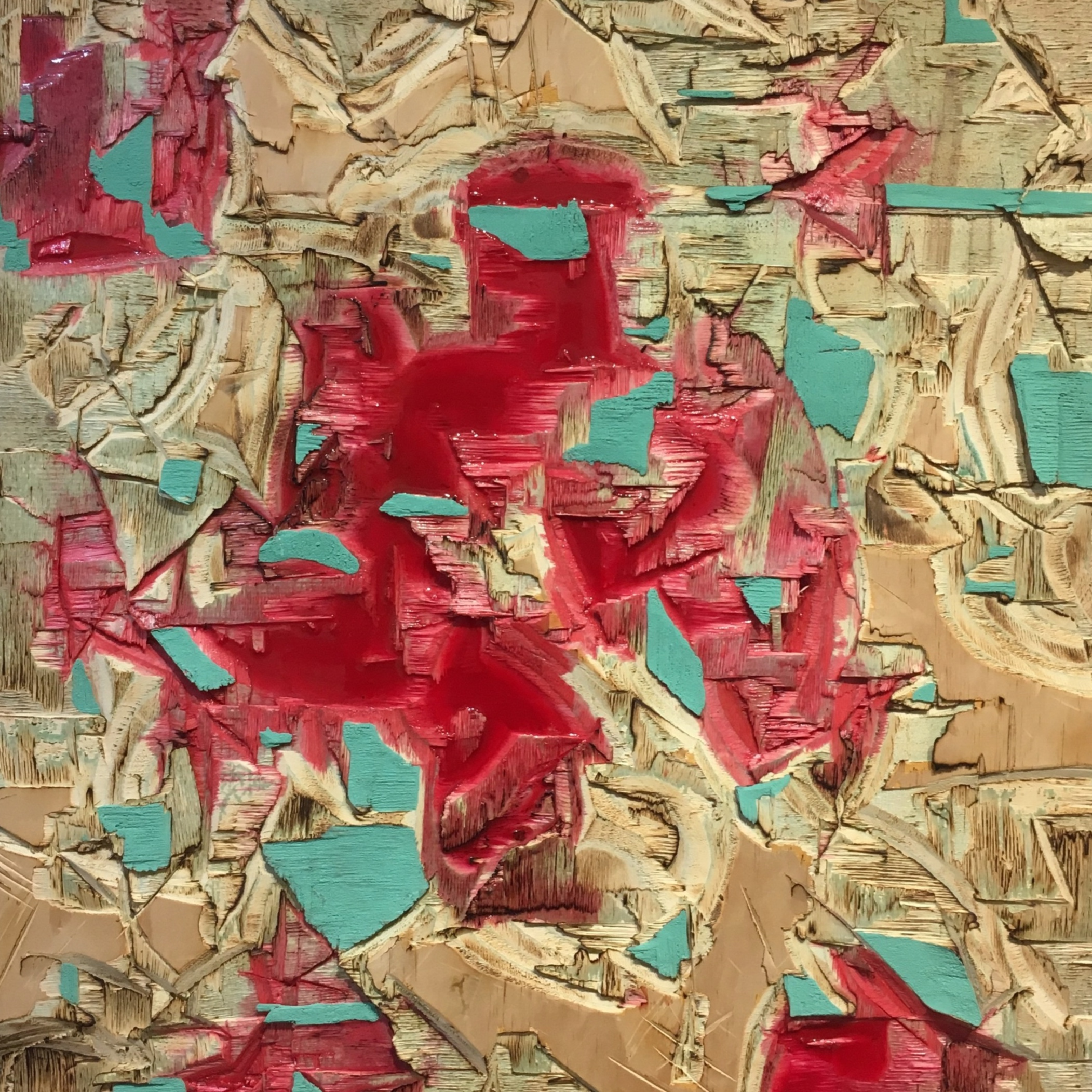 Red Resin and Verdigris