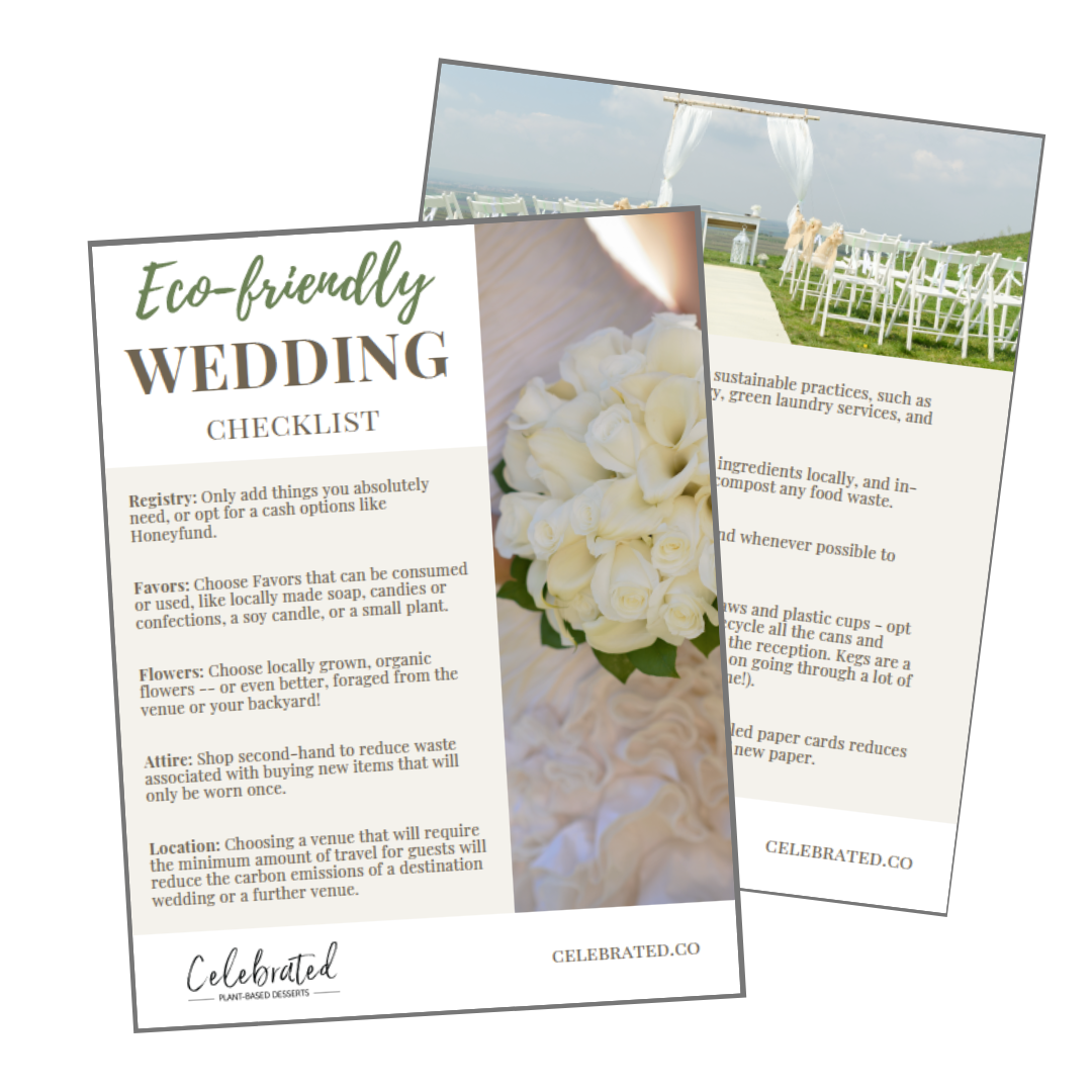Eco-Friendly Wedding Checklist