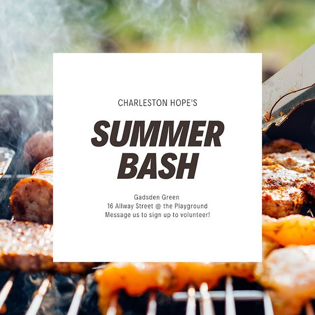 CALLING ALL VOLUNTEERS: This Saturday, June 22, we're going to be grilling out, playing games, doing crafts, and building relationships with students and families from Mitchell Elementary at Gadsden Green! Join us to volunteer and hang out at our Summer Bash by messaging us your name and email address! - DATE: June 22  TIME: 10-1 pm WHERE: Gadsden Green (16 Allway Street)