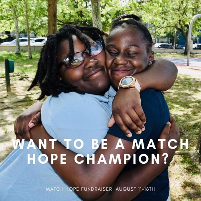 Love our programs and want to help us raise $100,000 in one week for our programs? Become a Match Hope Champion! Check out the information below and email kendall@charlestonhope.com to become a champion!  We need your help to raise $100,000 in one week!  How you can help : You choose your goal amount ranging from $250-$500, set up your fundraising page through our system, and invite your friends & family to join our mission by making a donation that will be matched dollar for dollar!