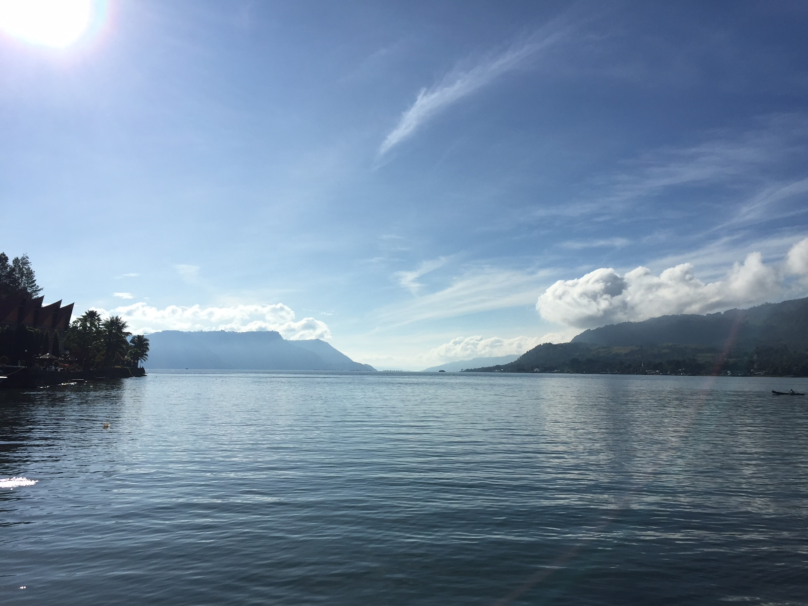 Danau Toba, Noord Sumatra.