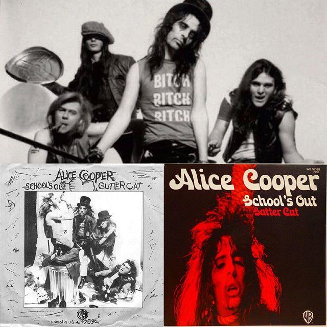 "✏️Alice Cooper ""Schools Out""✏️ Tully Diö's Greatest Rock Tracks!📌 #summerrock #alicecooper #detroit #stoneandsteelradioshow #shockrock #heavyrock #glamrock #hardrock #influencers #rockband #summersongs #tuesdaymotivation #tullydio 🛸"