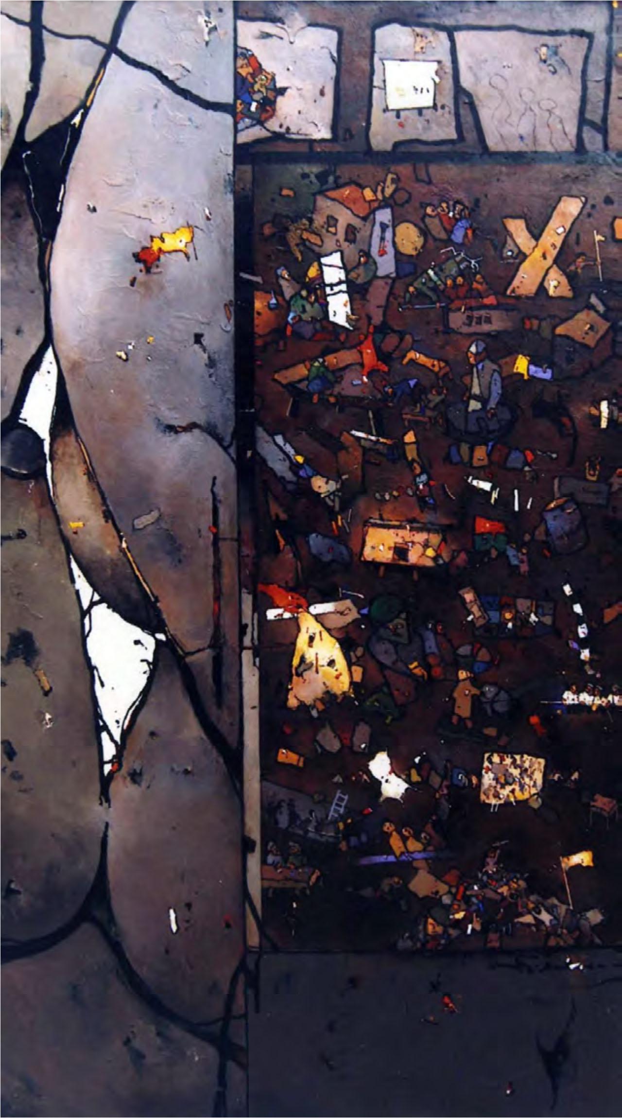 Settemari.  Bruno Widmann,  El Retrato.