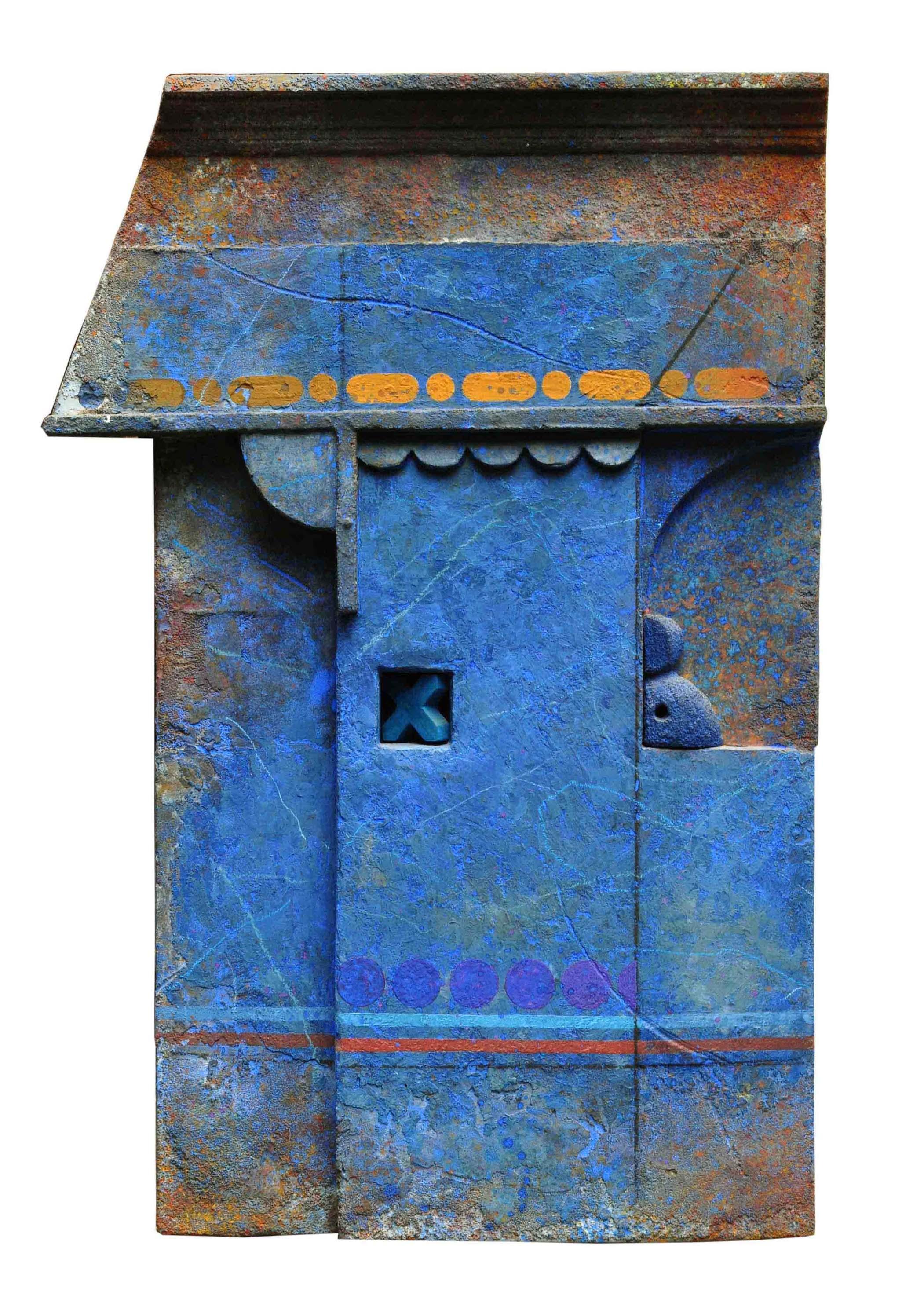 Zurbarán.  Marcelo Bonevardi,    Muro Azul.  1993