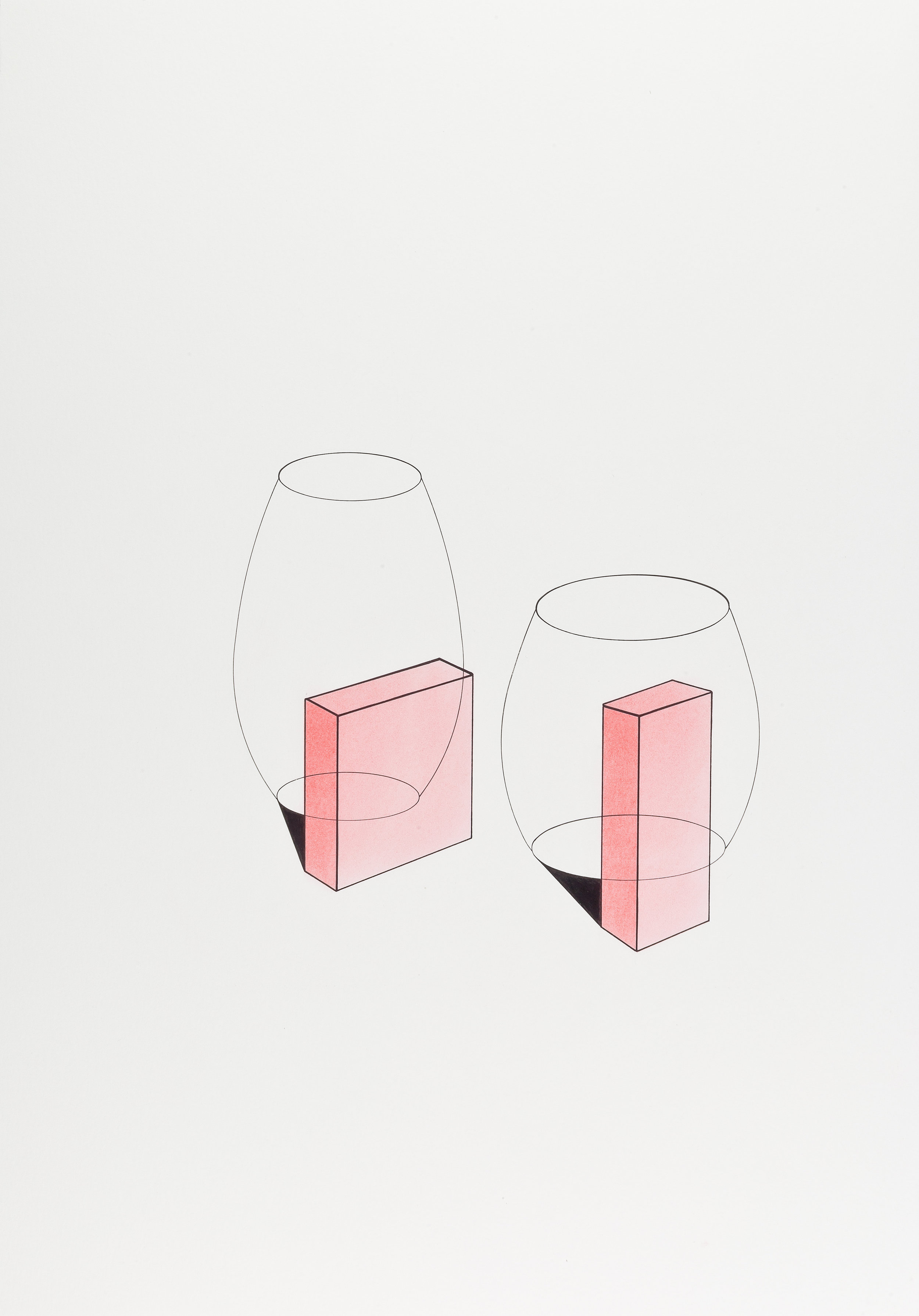 Galeria Raquel Arnaud. Waltercio Caldas, 2012 .Untitled.
