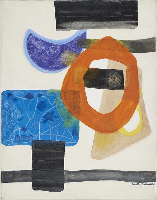 Amalia Polleri,  Caligrama n°2 , 1965