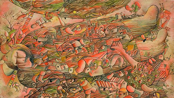 José Gurvich,  El Sueño de Jacob , 1970