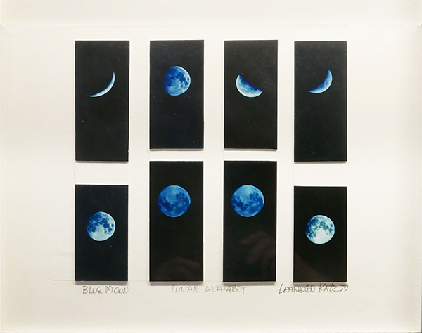 Leandro Katz  Blue Moon  1979