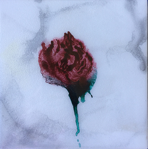 Graciela Montich  Marble Roses  2017