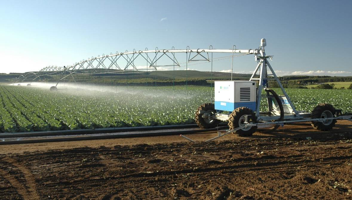 Linear Irrigators