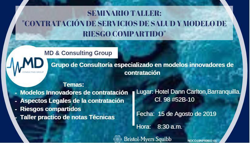 Invitación Próximo evento - Hotel Dann Carlton Barranquilla, 15 de agosto 2019 8:30 AM - Confirmar asistencia