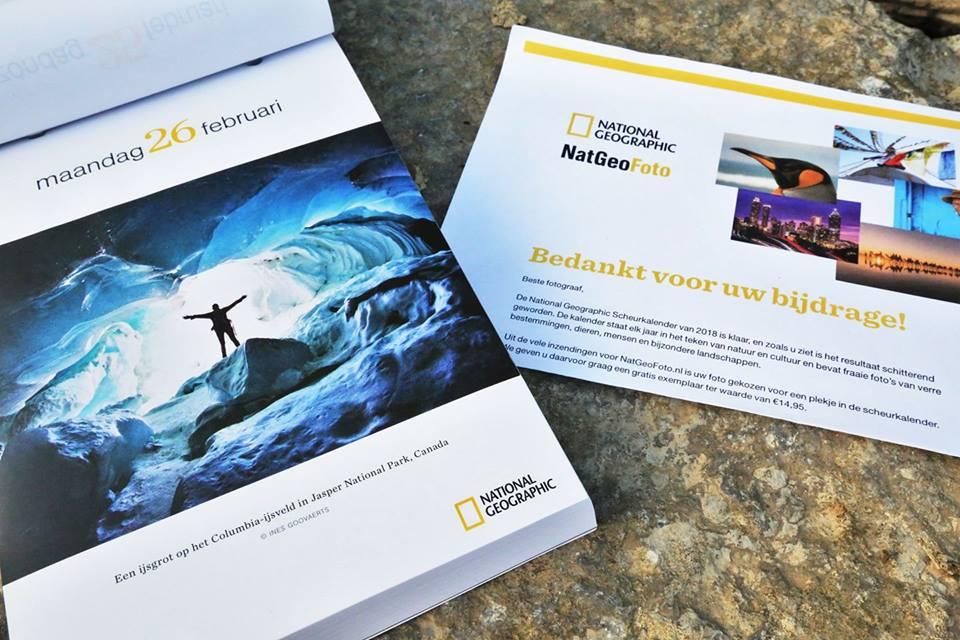 """National Geographic"" Block Calendar 2018"