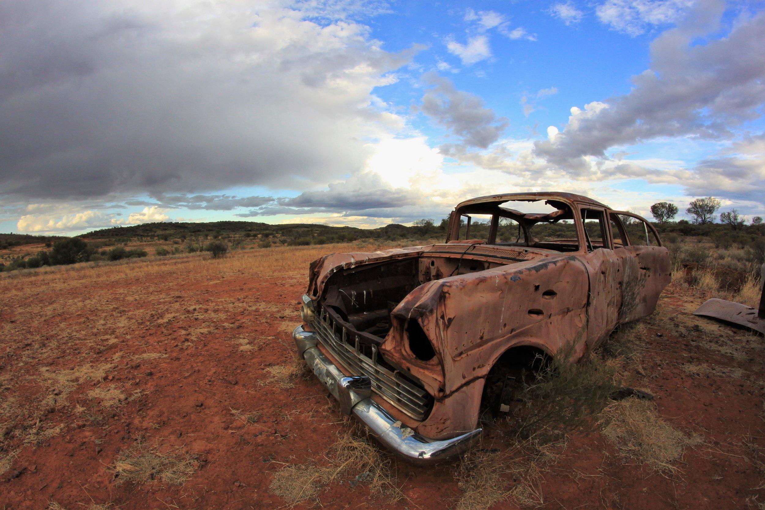 Outback desert