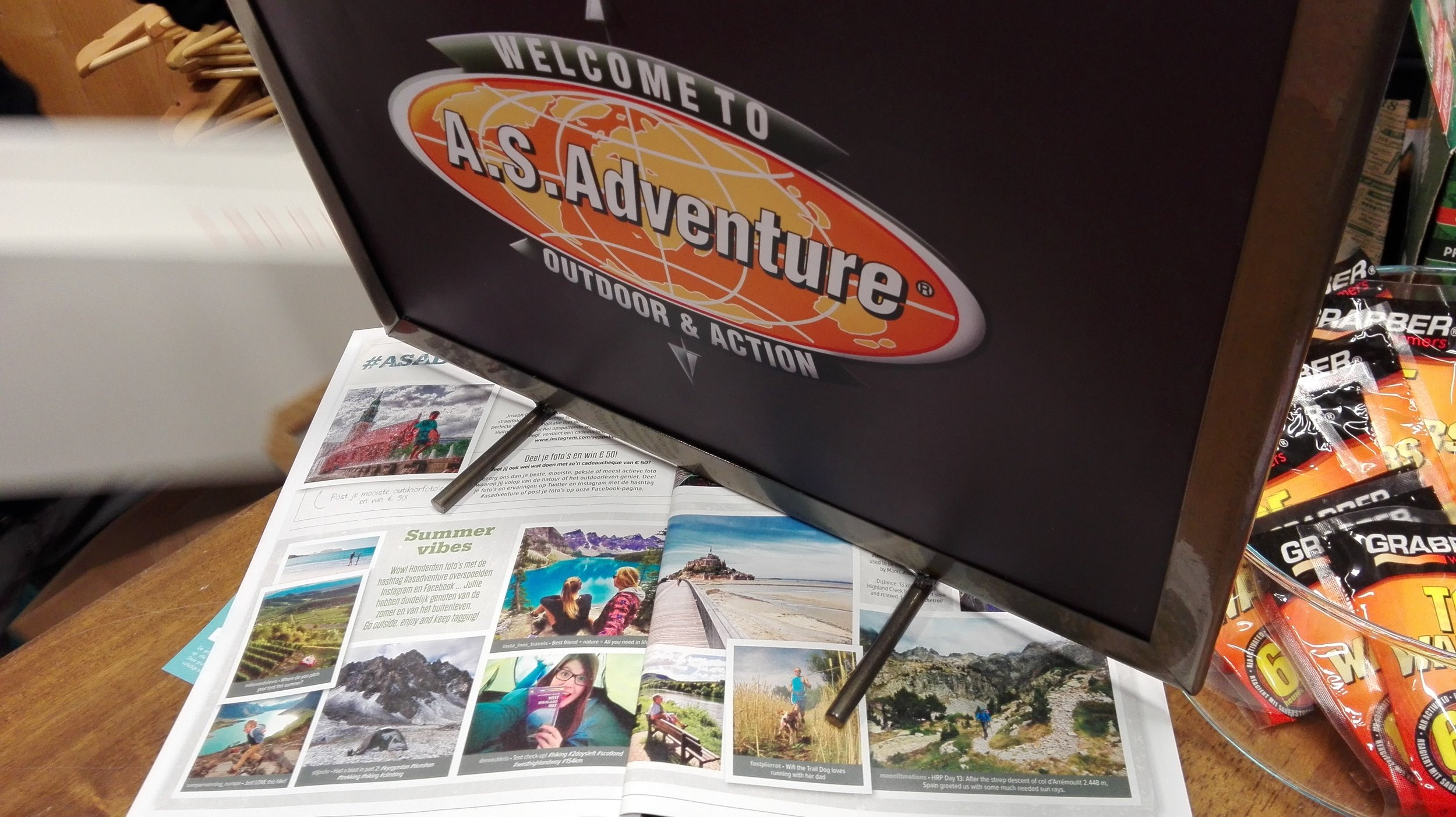 """""""A.S.Adventure"""" November 2017 issue"""