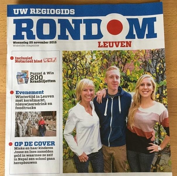 """Rondom Leuven"" November 2015 issue"