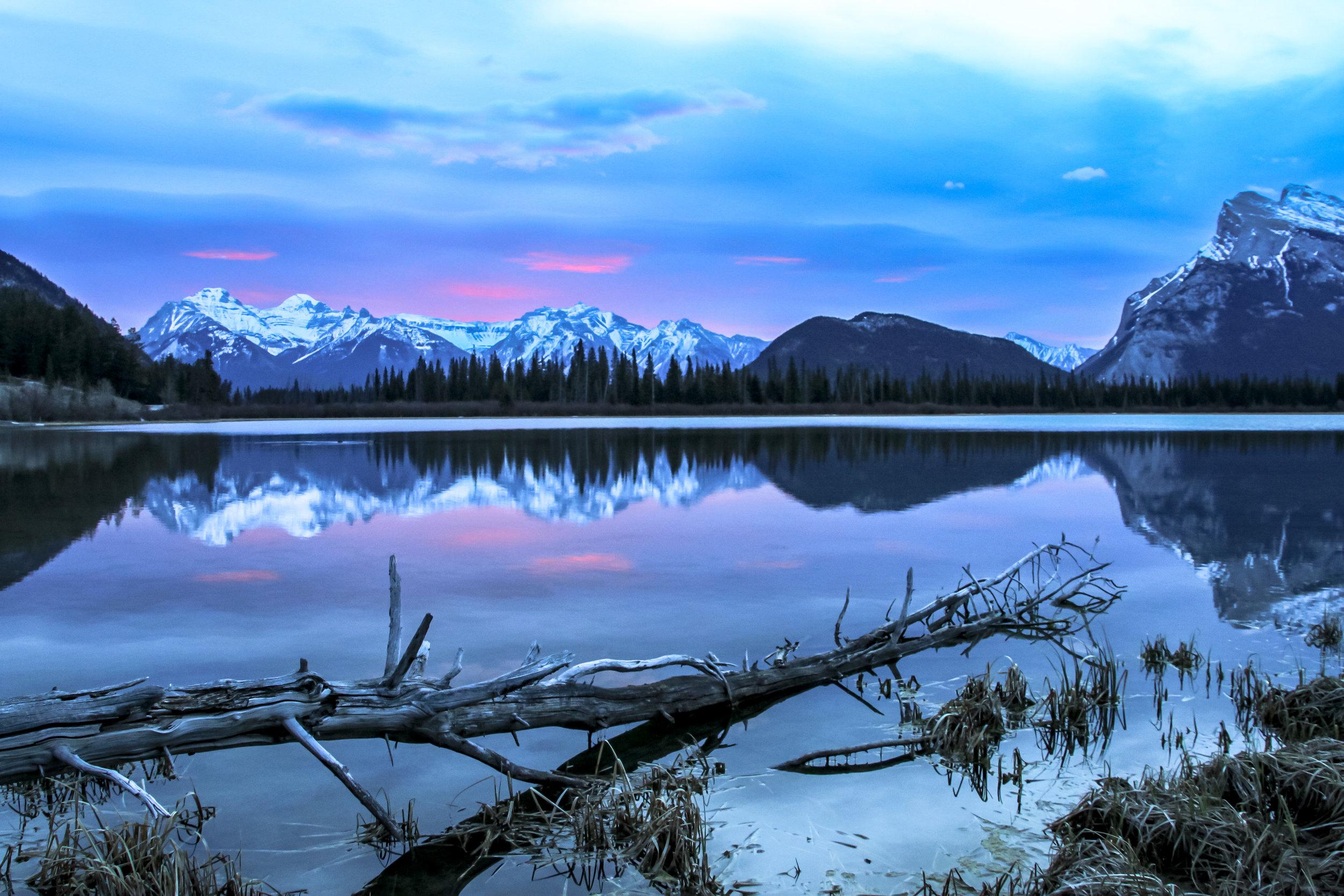 Vermillion Lakes Sunrise