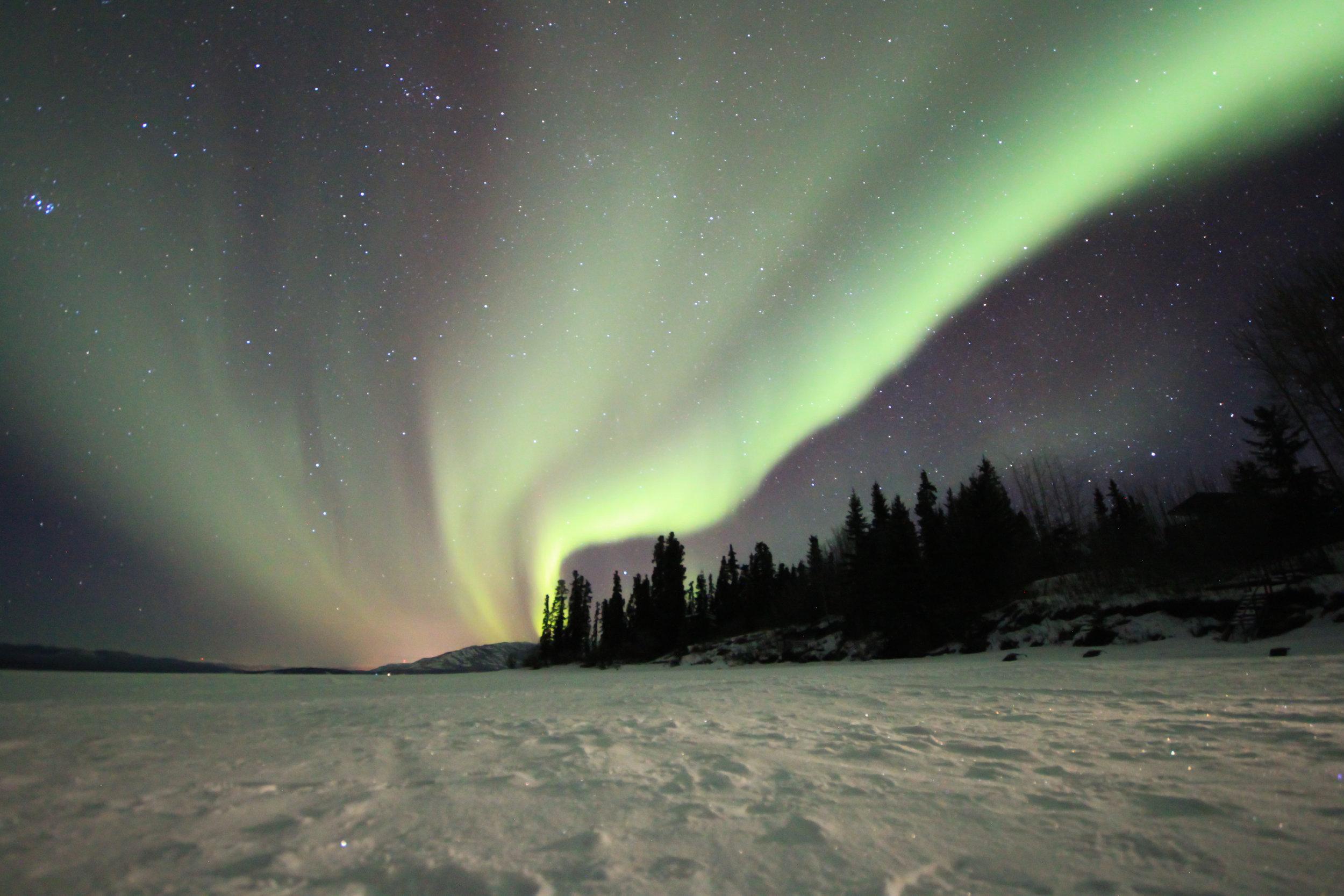 Northern Lights Lake