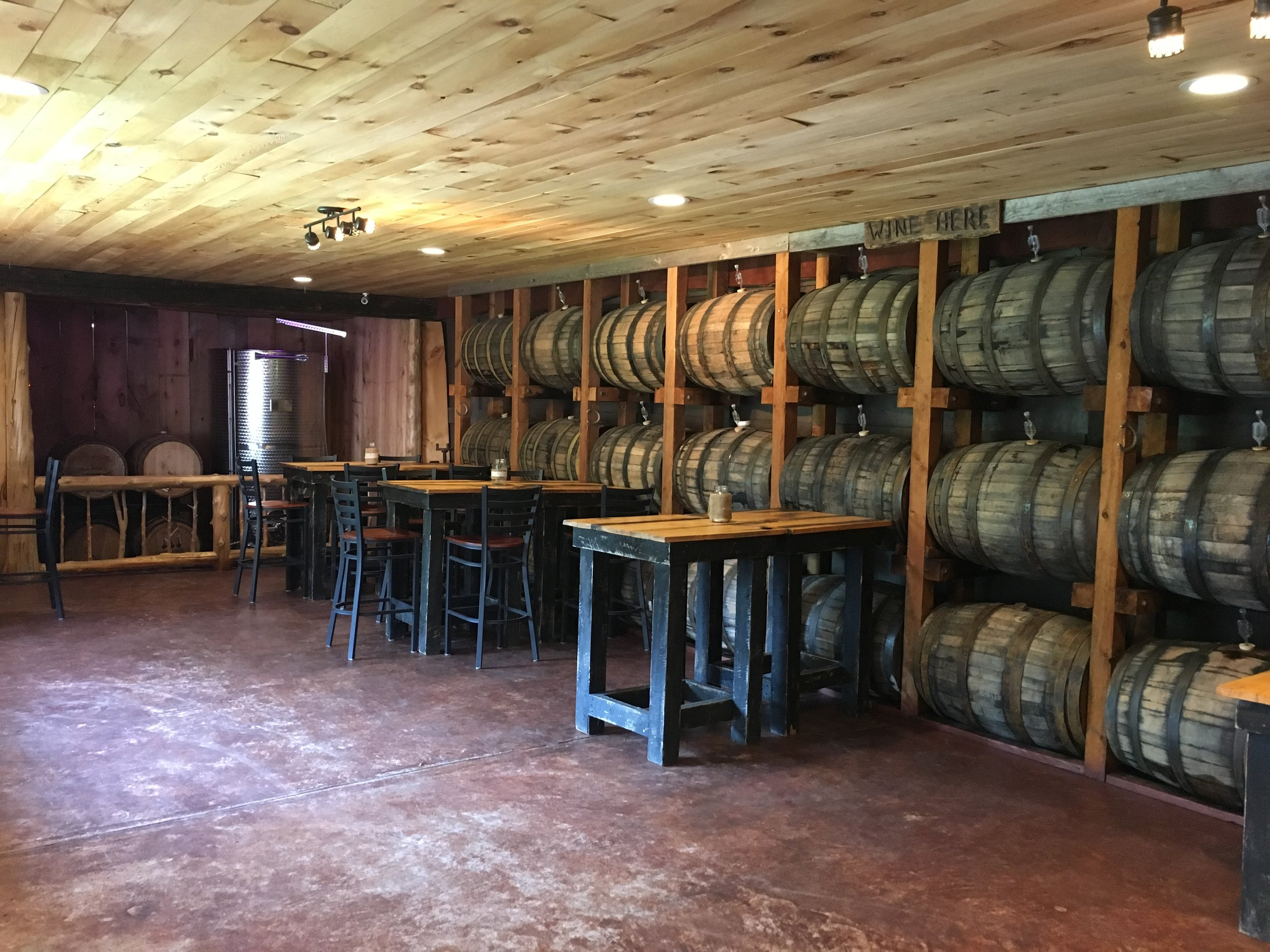 Barrel Room for private functions