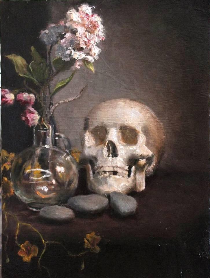 Sureya Davis_ Skull Still Life .jpg