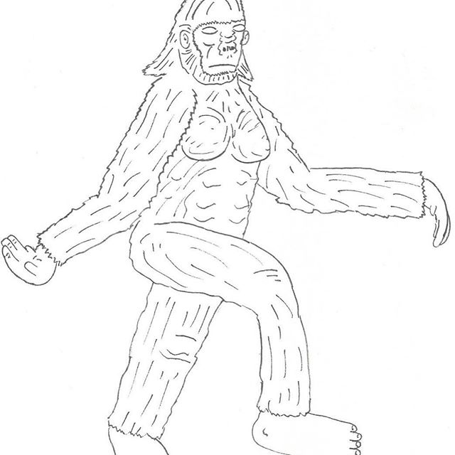 The Hollysquatch is Hollywood's own Bigfoot. Known for it's undulating breasts, it has attracted many famous suitors over the years. It's appearance has been known to precede a coming war.
