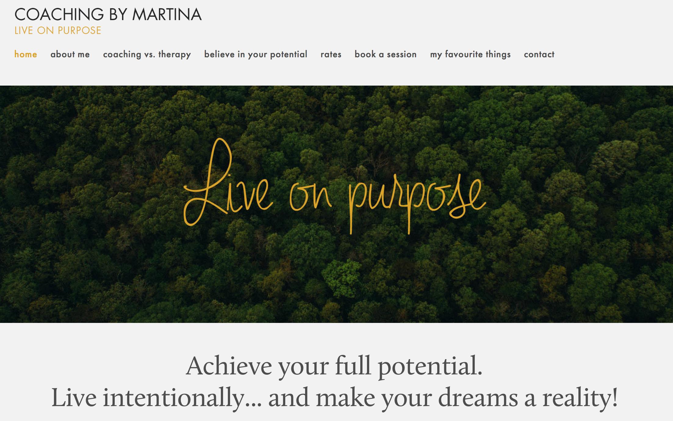 Coaching By Martina (www.coachingbymartina.com)